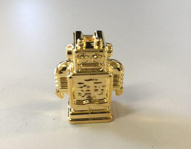3D Druck metallisiert vergoldet