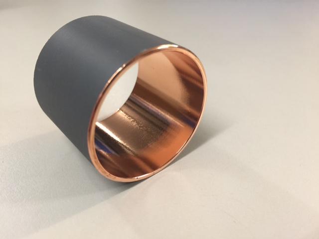 Kunststoff metallisiert galvanisiert verkupfert